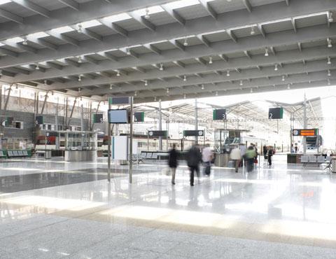 Servizi per spostamenti e trasportiAeroporti, terminal portuali,  stazioni ferroviarie, metropolitane