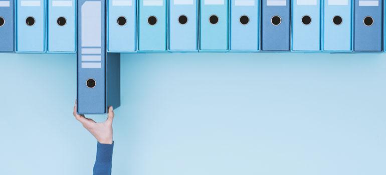 Ordinare e archiviare i documenti aziendali